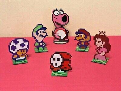 Super Mario Bros 2 Sprites Nintendo Video Game Inspired Pixel