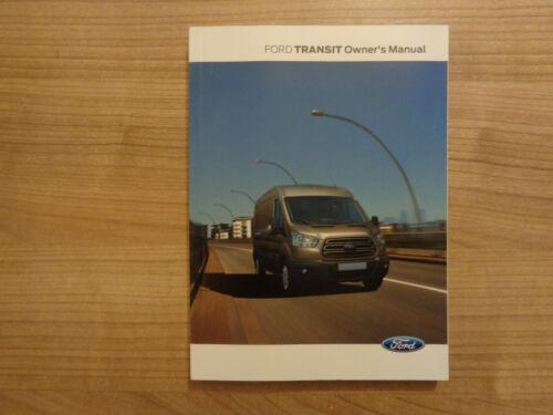 Ford Transit Owners Handbook//Manuel 13-18