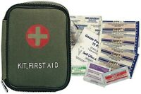 Combat First Aid Kit Military Medic Individual Field Zippered Pouch With Content Health Aids