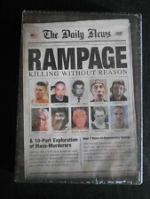 Rampage: Killing Without Reason (DVD, 2010, 2-Disc Set) BRAND NEW