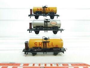 Bi899-0-5-3x-TRIX-EXPRESS-h0-dc-en-tole-chaudiere-voiture-DB-Shell-922-572-esso