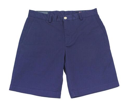 "Vineyard Vines Deep Cobalt Blue 9/"" Stretch Breaker Cotton Apparel Shorts 30 New"