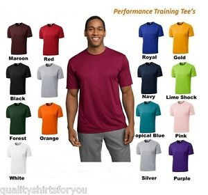MEN-039-S-MOISTURE-WICKING-DRY-FIT-SPORT-TEK-Short-Sleeve-T-SHIRT-NEW-XS-4XL-ST350