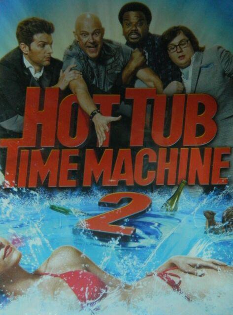 HOT TUB TIME MACHINE 2 (2015) Rob Corddry Craig Robinson ...