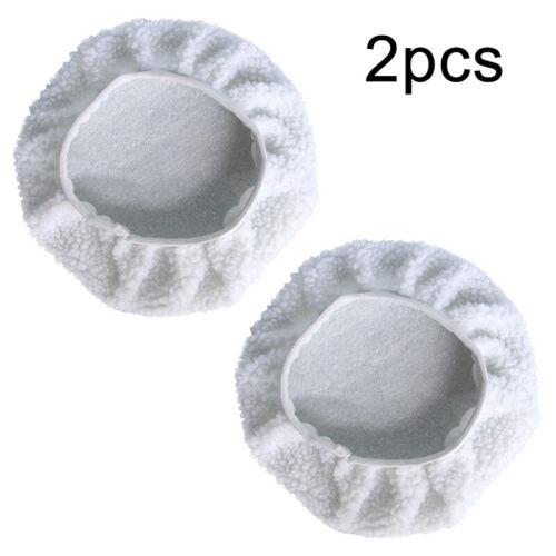 Set Polierscheibe 2 stück 9 /& 10 Zoll Waschbar Wiederverwendbar Zum Wachsen