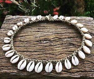 Hand-Made-Hemp-Macrame-Necklace-with-Cowrie-Shells-Bohemian-Gypsy