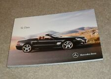 Mercedes SL Roadster Brochure 2010-2011 - SL300 SL350 SL500 SL600 SL63 AMG