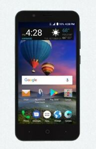 Details about TRACFONE ZTE Z558VL TUTORIALS 4G LTE ANDROID SMARTPHONE,  BLACK /UA15-212