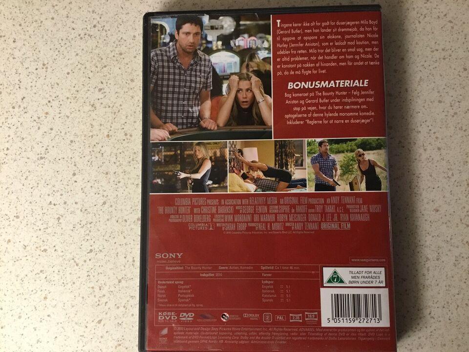 The bounty hunter , DVD, komedie