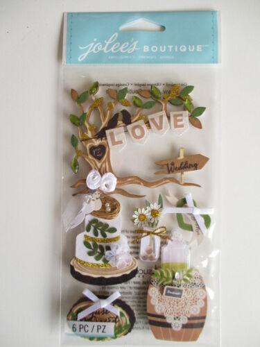 Jolee/'s Boutique 3D Stickers Outdoor Wedding