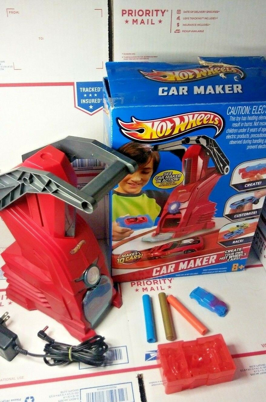 Hot Wheels Car Maker Playset Hot Rod Rod Rod Toy Mold   Press INCOMP TALKS TELLS YOU HOW a1ffce