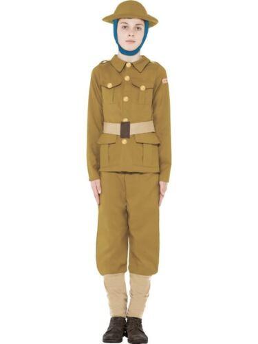 media età 6-8 STORIE orribili costume bambino della prima guerra mondiale Guerra Soldato Costume