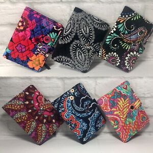 VERA-BRADLEY-PASSPORT-ID-TRAVEL-WALLET-COVER-QUILTED-COTTON-SNAP-NWT