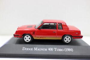 Nouvelle-echelle-1-43-Diecast-Voiture-Modele-Dodge-Magnum-400-TURBO-1984-pour-collection