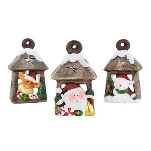 LANTERNA-DI-NATALE-in-CERAMICA-porta-candela-o-lumino-natalizio-decorato-14-cm