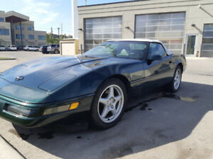 Trade 94 Corvette convertible for low mileage Toyota FJ.