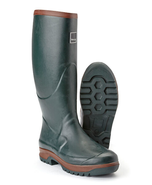 Toggi Wanderer Neoprene Lined Wellington bottes,Adults,All Tailles,Thermal Lining