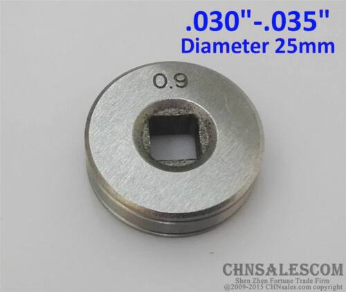 """Mig Welder Wire Feed Drive Roller Roll Parts 0.8-0.9 V-Groove  .030/""""-.035/"""""""
