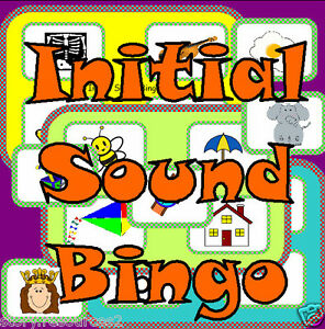 Initial Sounds Phonic Bingo Letters And Sounds Alphabet Game