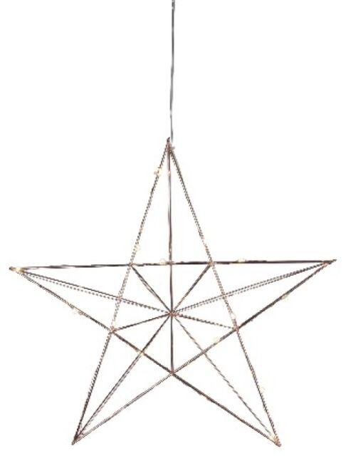 Staredge Metal Transparent Cable 20 Warm White Led Wire Star Light