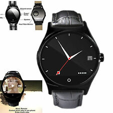 Heart Rate Monitor Bluetooth Smart Watch For Android Phone Samsung Motorola LG