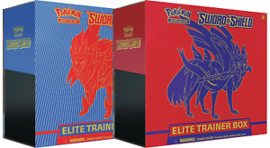 Pokemon Sword and Shield Elite Trainer Boxes Set of 2 Sealed