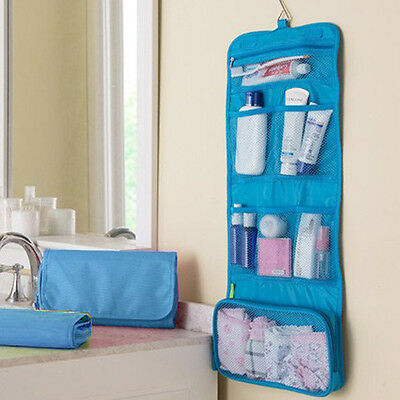 New Makeup Storage Case Cosmetic Bag Travel Toiletry Wash  Hanging Grooming