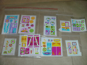 LEGO STICKER SHEET SET DECALS LOGO TRANSFER ONLY CHOOSE THE 1 YOU WANT NO LEGO