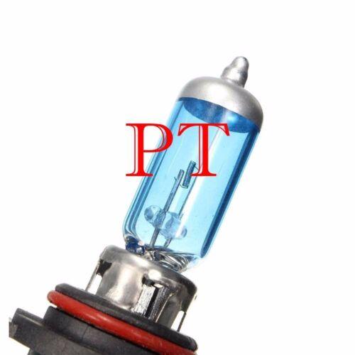 9006 HB4 12V 100W Halogen Headlight Light Bulbs 5000K Super White #z7 Low Beam
