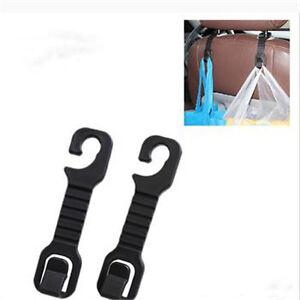 practical solid car back seat headrest hanger holder hooks for bag cloth grocer. Black Bedroom Furniture Sets. Home Design Ideas