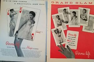 1956-women-039-s-Perma-lift-bra-girdle-with-magic-insets-6-page-fashion-ad