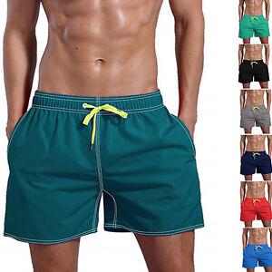 Mens-Swimming-Board-Shorts-Swim-Shorts-Trunks-Swimwear-Beach-Summer-Casual-Pants