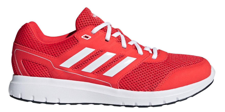 Adidas Uomo Scarpe da corsa Duramo LITE 2.0 Palestra Allenamento in rosso NUOVO