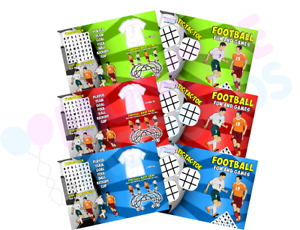 Bag Fillers Pack of 12 A4 Circus Party Placemat Tabletop Activity Sheets