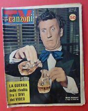 TV SORRISI CANZONI - N. 46 /1961 - MAC RONAY - SANDRA MONDAINI