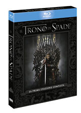 IL TRONO DI SPADE - STAGIONE 1 (5 BLU-RAY) COF. PRIMA SERIE Games of Thrones
