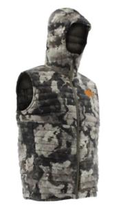 Nomad Men/'s Veil Cervidae Duo-Down Hoodie Vest N4000050 $110 NWT