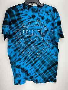 Affliction-Short-Sleeve-T-Shirt-Mens-Blue-Size-M