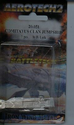 Miniatures, War Games Battletech Comitatus Clan Jumpship Tro 3075 Mint Iwm 20-051 Diversified In Packaging
