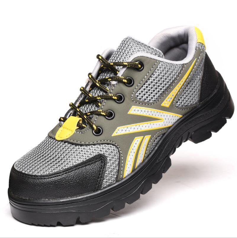 Neue Herrenschuhe Breathable Arbeits sicherheits schuhe Stiefel Wandern Turnschuhe