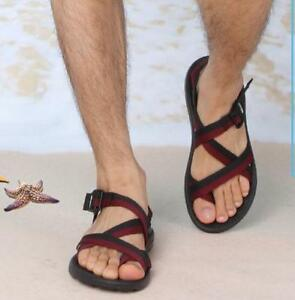 Mens Fashion Roma Flip Flops Thong Sandals Beach Shoes
