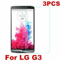 3PCS Ultra HD Clear Screen Protector Guard Film Protective For LG G3 D855