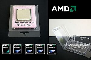 AMD-CPU-Clamshell-for-Opteron-Phenom-FX-Athlon-Processors-AM2-AM3-Lot-of-10-25