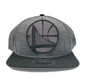 Golden State Warriors New Era 9Fifty Heather Huge Adjustable Snapback Hat NBA