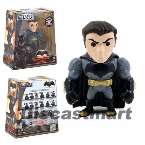 """JADA 4/"""" METALS BATMAN V SUPERMAN 2016 BRUCE WAYNE BATMAN FIGURES 97706 NEW"""