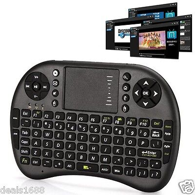 Wireless Air Mouse Keyboard Touchpad Remote Control For PC XBMC Box Android TV