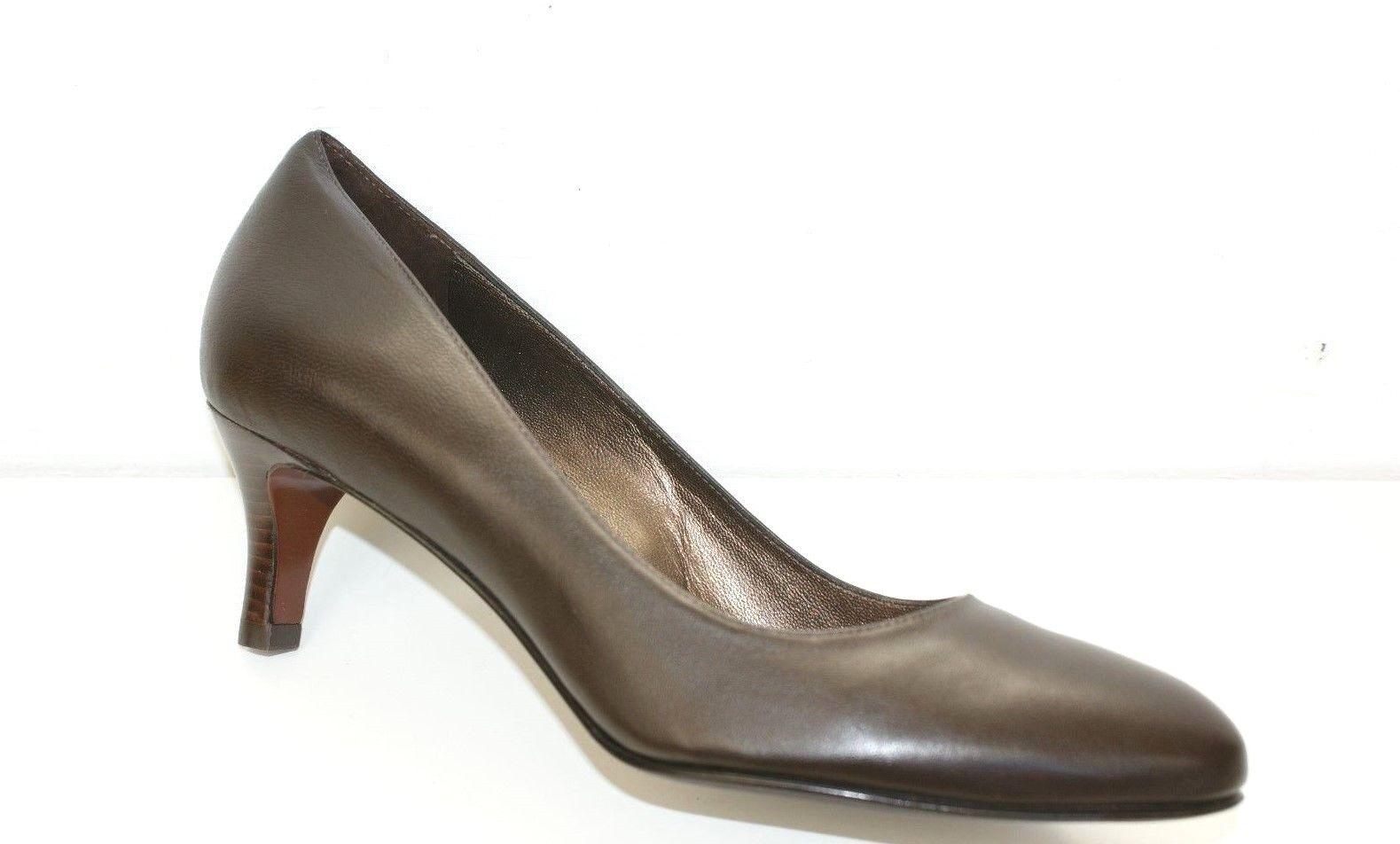 Cole Haan AIR CLAIR Pump Heel Dress Dress Dress schuhe damen braun Leather 10 NEW IN BOX 06486f