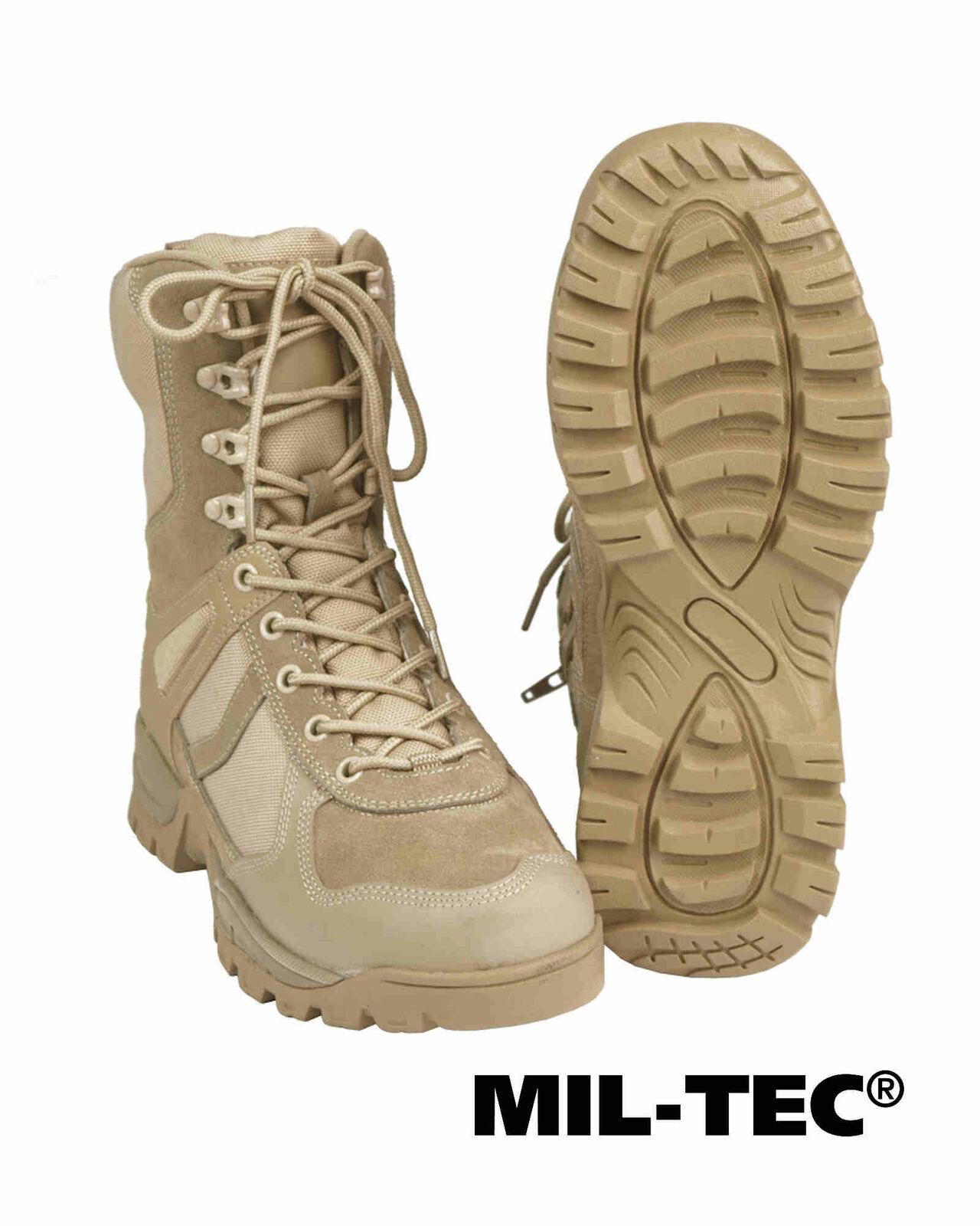 Mil-Tec Stiefel Schuhe PATROL ONE-ZIP COYOTE Stiefel Schuhe