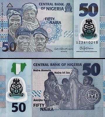 Nigeria 20 Naira 2018 Unc P.40 New Polymer
