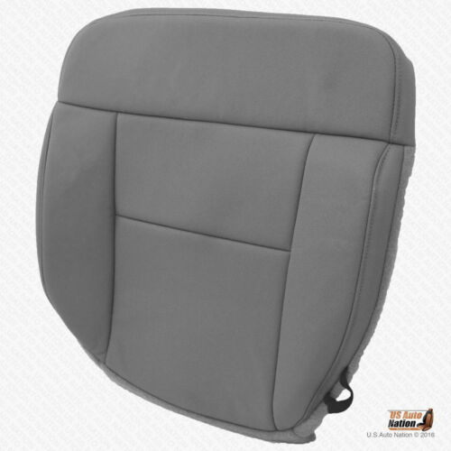 2004-2008 Ford Front F150 Lariat DRIVER Bottom Seat Cover CLOTH FLINT GRAY